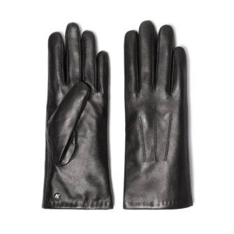 Classic black gloves for ladies