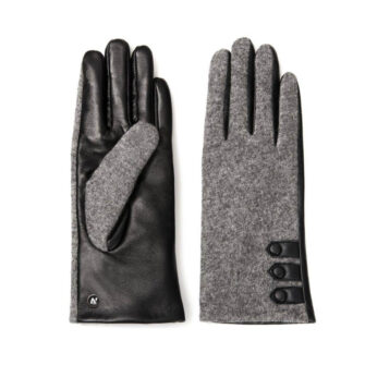 Two-color gloves