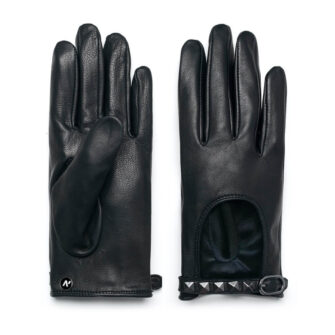 Rock leather gloves
