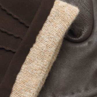 Brown napoSUEDE details