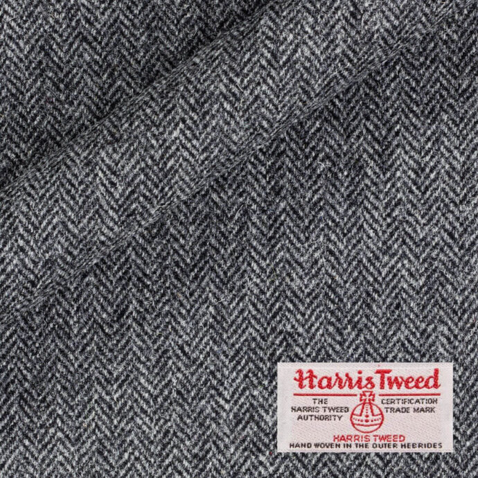 Tweed material for gloves