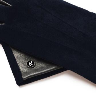 Dark blue napoROSE details