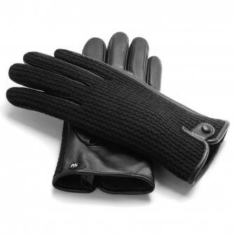 Warm men's gloves for the winter