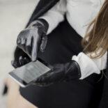 Classic women gloves