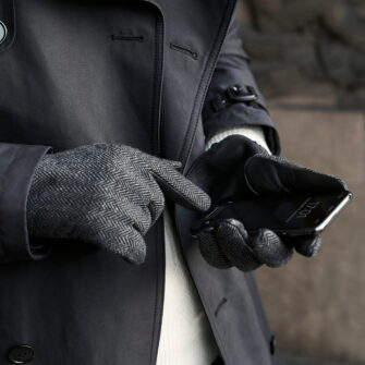 Touchscreen gloves for gentlemen