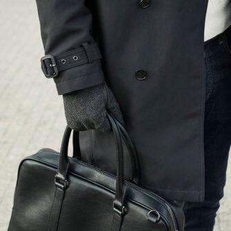 Perfect gloves for gentlemen