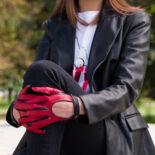 Driving gloves for women