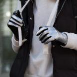 Modern style gloves