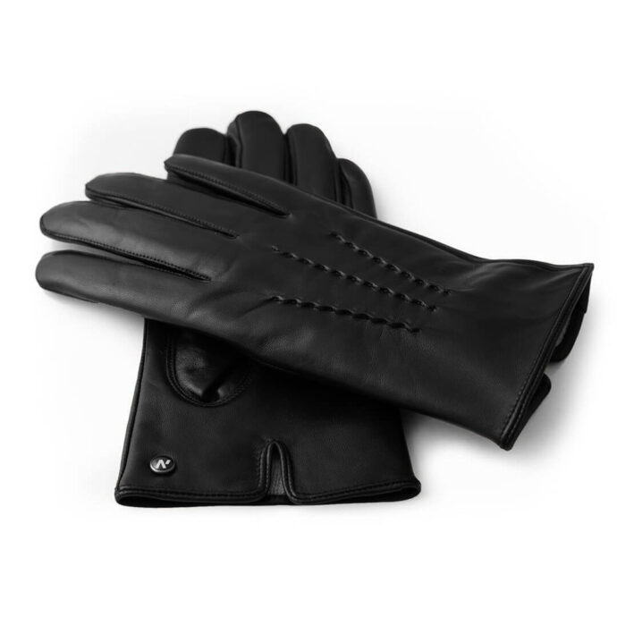 Classic winter gloves with cashmere lining
