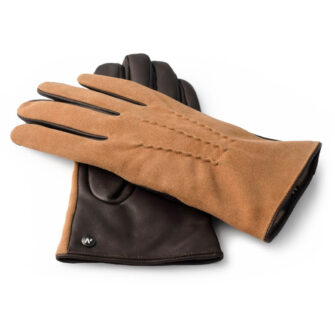 Camel touchscreen gloves for him