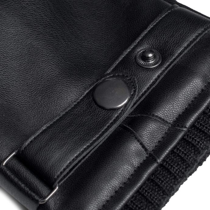 Black napoUOMO details